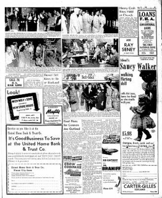 The Mason City Globe-Gazette from Mason City, Iowa on August 29, 1952 · Page 3