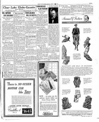 The Mason City Globe-Gazette from Mason City, Iowa on April 14, 1936 · Page 7