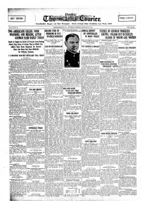 The Daily Courier from Connellsville, Pennsylvania on January 31, 1918 · Page 1