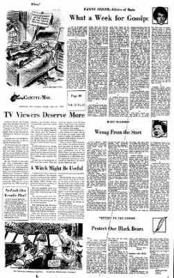 Sunday Gazette-Mail from Charleston, West Virginia on July 16, 1972 · Page 42