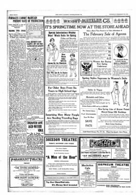 The Daily Courier from Connellsville, Pennsylvania on February 28, 1918 · Page 8