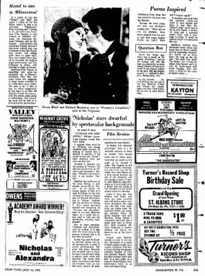 Sunday Gazette-Mail from Charleston, West Virginia on July 23, 1972 · Page 107