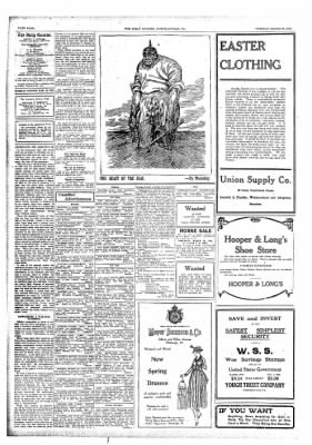 The Daily Courier from Connellsville, Pennsylvania on March 19, 1918 · Page 4