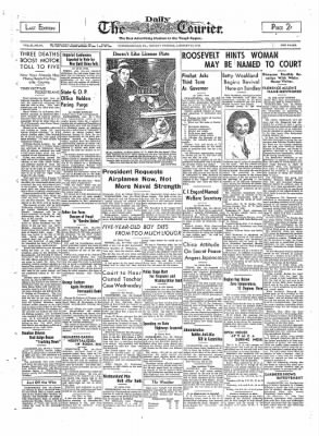 The Daily Courier from Connellsville, Pennsylvania on January 10, 1938 · Page 1