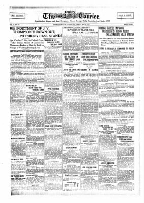 The Daily Courier from Connellsville, Pennsylvania on May 8, 1918 · Page 1