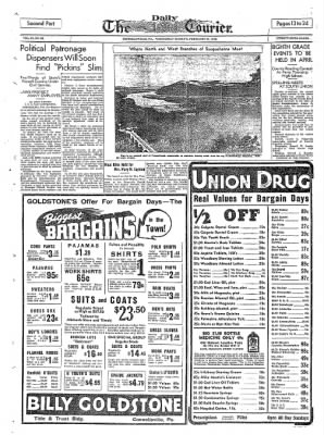 The Daily Courier from Connellsville, Pennsylvania on February 23, 1938 · Page 13