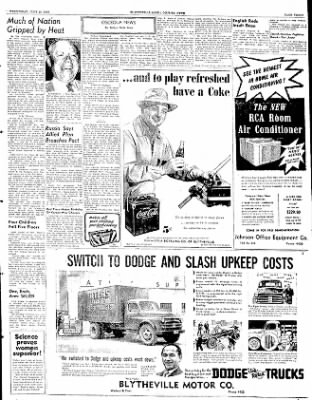 The Courier News from Blytheville, Arkansas on June 25, 1952 · Page 2