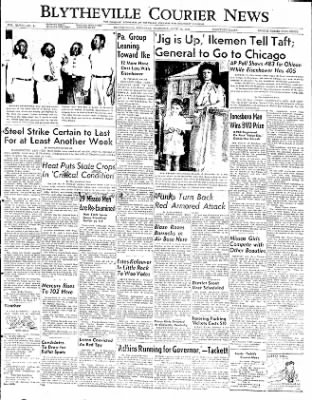The Courier News from Blytheville, Arkansas on June 26, 1952 · Page 1