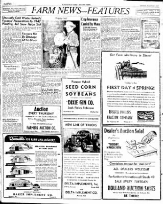 The Courier News from Blytheville, Arkansas on March 21, 1947 · Page 6