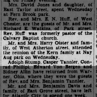 Harry Oister and Gladys Jones Oister, Scranton Republican, 17 Aug 1928