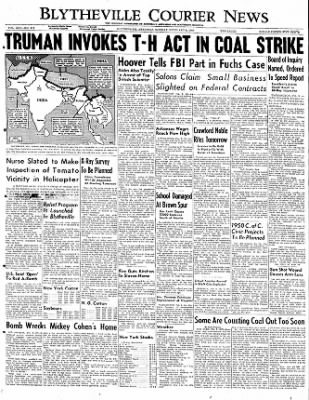 The Courier News from Blytheville, Arkansas on February 6, 1950 · Page 1