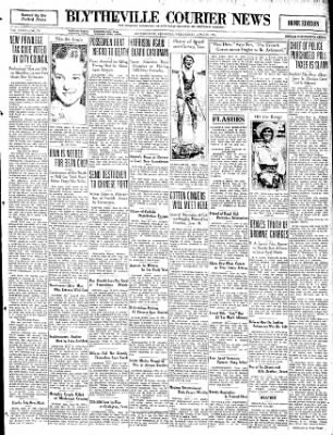 The Courier News from Blytheville, Arkansas on June 10, 1931 · Page 1