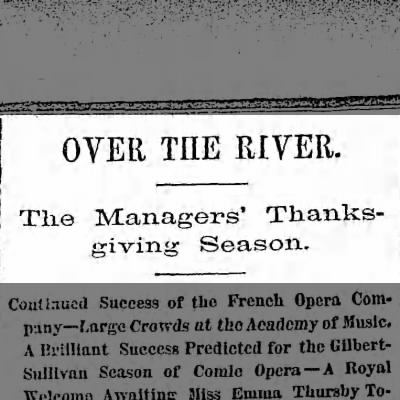 Sunday, November 30, 1879 - Page 3 - headline