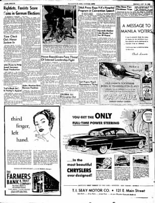 The Courier News from Blytheville, Arkansas on November 10, 1952 · Page 12