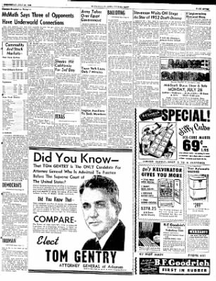 The Courier News from Blytheville, Arkansas on July 23, 1952 · Page 7