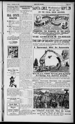 Santa Cruz Sentinel from Santa Cruz, California on September 19, 1905 · Page 7