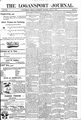 Logansport Pharos-Tribune from Logansport, Indiana on July 29, 1896 · Page 1