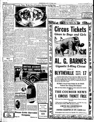 The Courier News from Blytheville, Arkansas on September 13, 1934 · Page 10