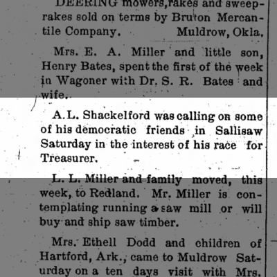 A.L. Shackelford campaign