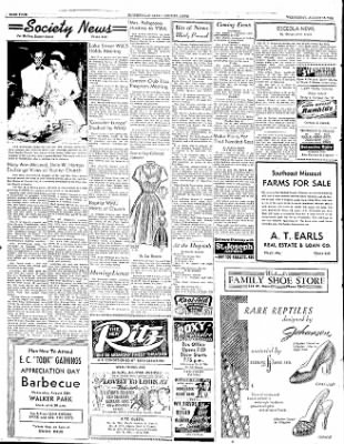 The Courier News from Blytheville, Arkansas on August 13, 1952 · Page 4