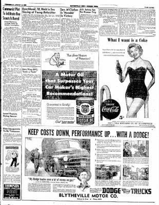 The Courier News from Blytheville, Arkansas on August 13, 1952 · Page 7