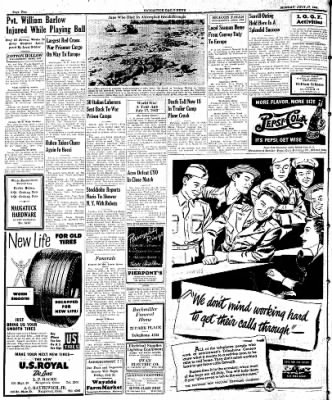 Naugatuck Daily News from Naugatuck, Connecticut on July 17, 1944 · Page 2