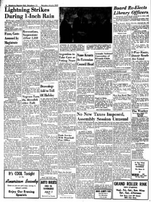 Galesburg Register-Mail from Galesburg, Illinois on July 6, 1963 · Page 2