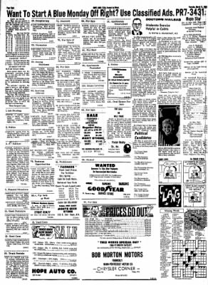 Hope Star from Hope, Arkansas on March 14, 1968 · Page 7
