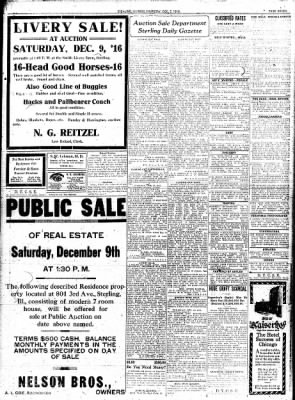 Sterling Standard from Sterling, Illinois on December 7, 1916 · Page 7