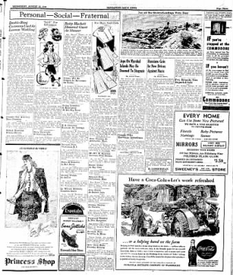 Naugatuck Daily News from Naugatuck, Connecticut on August 23, 1944 · Page 3