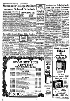 Galesburg Register-Mail from Galesburg, Illinois on May 4, 1973 · Page 12