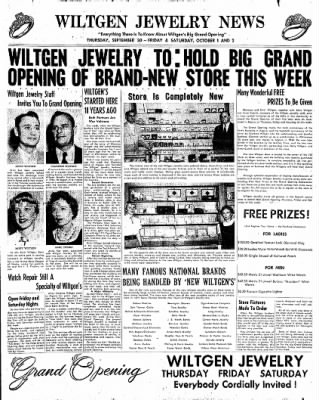 The Algona Upper Des Moines from Algona, Iowa on September 28, 1954 · Page 11