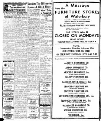 Naugatuck Daily News from Naugatuck, Connecticut on January 11, 1947 · Page 2