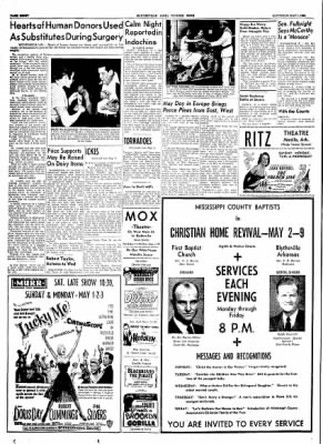 The Courier News from Blytheville, Arkansas on May 1, 1954 · Page 8