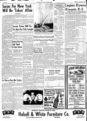 The Courier News from Blytheville, Arkansas on August 14, 1953 · Page 6