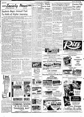 The Courier News from Blytheville, Arkansas on August 28, 1953 · Page 4