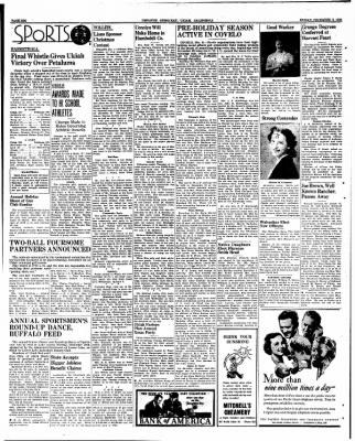 Ukiah Dispatch Democrat from Ukiah, California on December 8, 1939 · Page 6