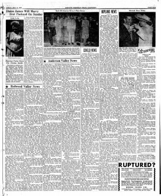 Ukiah Dispatch Democrat from Ukiah, California on May 14, 1948 · Page 5