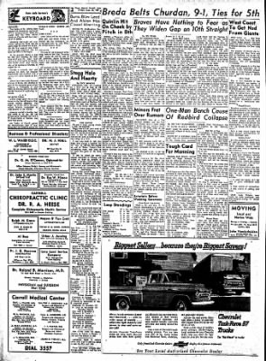 Carrol Daily Times Herald from Carroll, Iowa on August 16, 1957 · Page 2