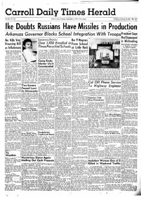 Carrol Daily Times Herald from Carroll, Iowa on September 3, 1957 · Page 11