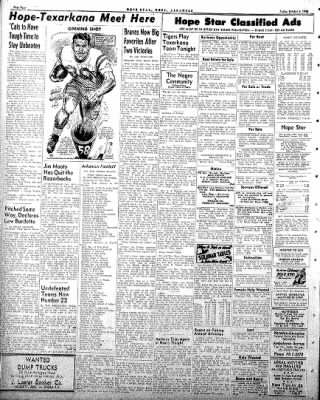 Hope Star from Hope, Arkansas on October 3, 1958 · Page 4