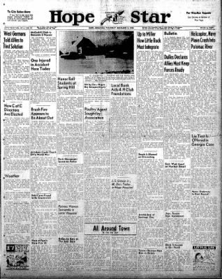 Hope Star from Hope, Arkansas on December 4, 1958 · Page 1