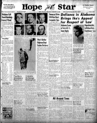 Hope Star from Hope, Arkansas on December 10, 1958 · Page 1