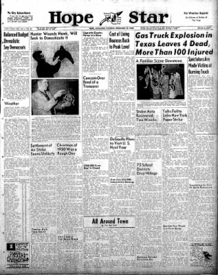 Hope Star from Hope, Arkansas on December 23, 1958 · Page 1