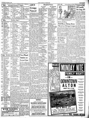Alton Evening Telegraph from Alton, Illinois on August 3, 1963 · Page 11
