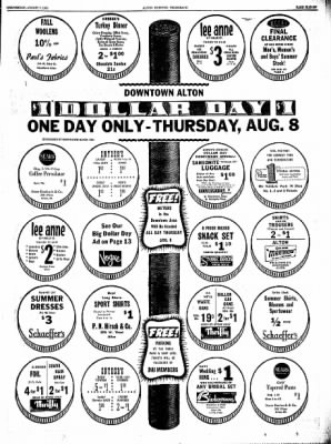 Alton Evening Telegraph from Alton, Illinois on August 7, 1963 · Page 11