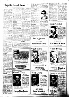 Fayette County Leader from Fayette, Iowa on May 4, 1961 · Page 4