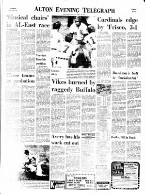 Alton Evening Telegraph from Alton, Illinois on August 19, 1972 · Page 15
