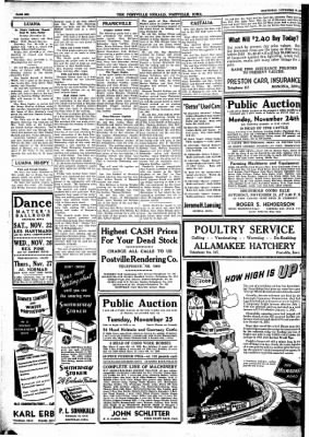 Postville Herald from Postville, Iowa on November 19, 1947 · Page 6