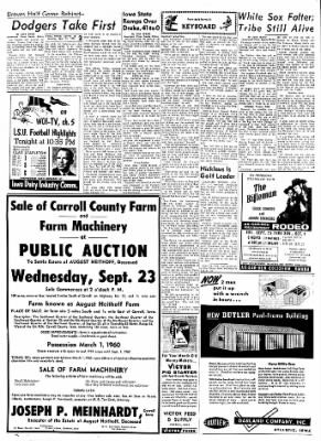 Carrol Daily Times Herald from Carroll, Iowa on September 21, 1959 · Page 2